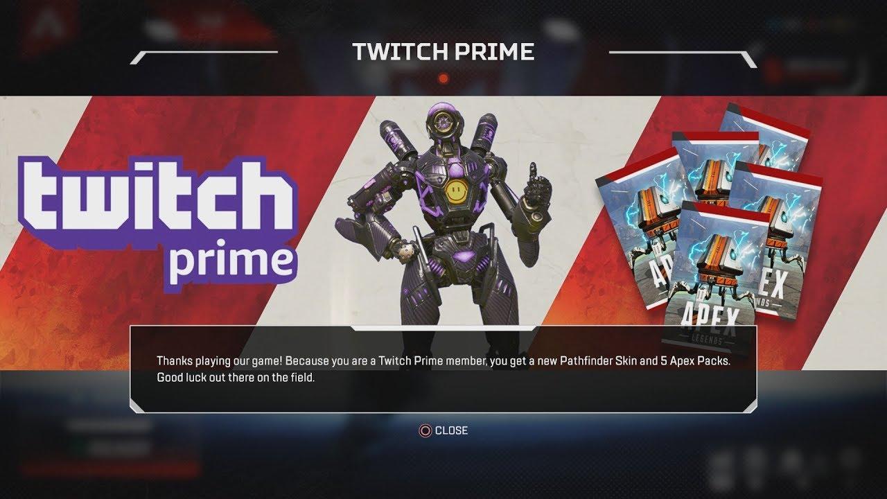 Apex Legends, Twitch Prime
